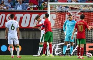 پرتغال 2 - 1 ایرلند؛ معجزه رونالدو
