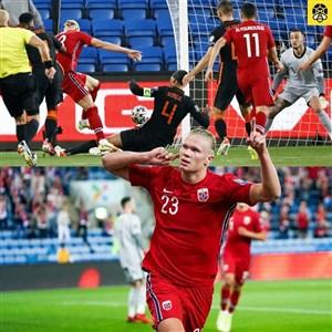 نروژ 1 - 1 هلند؛ یک امتیاز در اولین تجربه فان خال