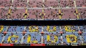 هواداران دلزده، بلیتها روی دست بارسلونا ماند