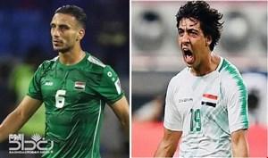 دو بازیکن کلیدی عراق به بازی با ایران می رسد؟