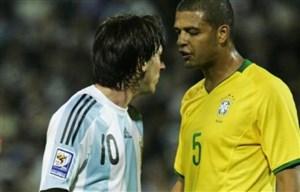 راه توقف لئو مسی؟ با آرنج به صورت او بزنید!