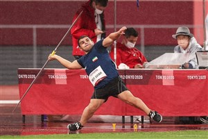 بیت سیاح، دهمین نقره ای ایران در پارالمپیک