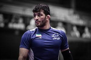 یزدانی کاپیتان تیم کشتی ایران در رقابتهای جهانی