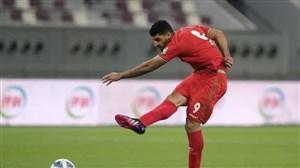 طارمی بهترین بازیکن عراق- ایران