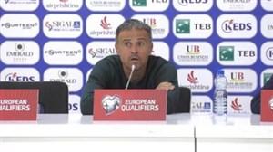 انریکه: صعود به جام جهانی به خودمان بستگی دارد