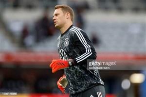 مانوئل نویر بازی برابر رومانی را از دست داد