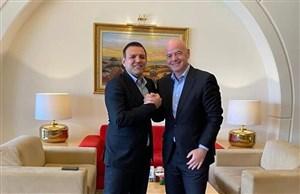 رئیس فیفا به ایران میآید