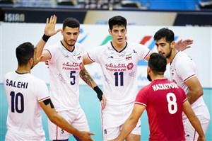 والیبال قهرمانی آسیا؛ برد بزرگ ایران در غیاب معروف و موسوی +فیلم خلاصه بازی