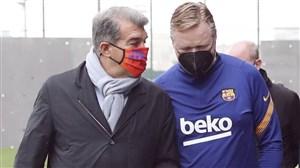 مهلت مدیران بارسلونا به سرمربی هلندی مشخص شد