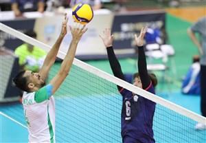 والیبال قهرمانی آسیا؛ روز خوب تیمهای عربی