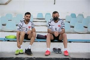 11 بازیکن یحیی در مقابل استقلال تاجیک