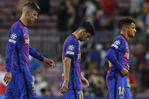 فاجعه بارسلونا برابر بایرن؛ به روایت نقشه! (عکس)