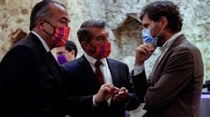 جلسه مدیران بارسلونا در نوکمپ تا بامداد