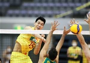 والیبال قهرمانی آسیا؛ چین به مدال برنز رسید