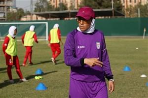 فوتبال زنان ایران آماده بازی مقابل بنگلادش