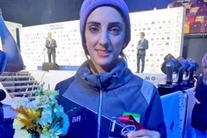 الناز رکابی و نخستین مدال تاریخ سنگنوردی