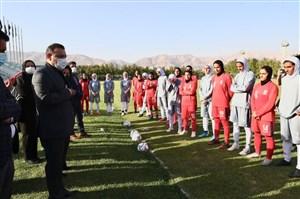 قدردانی عزیزیخادم از کادرفنی تیم ملی فوتبال زنان