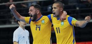 برزیل راهی نیمه نهایی جام جهانی فوتسال شد