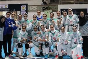 پایان کار دختران هندبال ایران با چهارمی آسیا