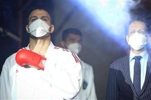 کاپیتان تیم ملی کاراته شنبه روی تاتامی مبارزه میکند