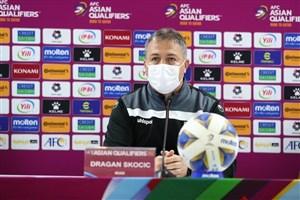 اسکوچیچ: نه به 6 امتیاز کاری داریم نه به نتایج امارات