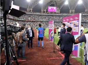 سعودیها مصاحبه کاپیتان ژاپن را خراب کردند! (عکس)