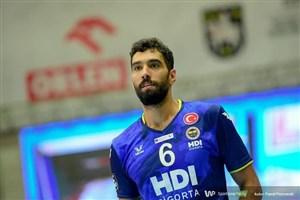 پیروزی یاران موسوی در هفته دوم والیبال لیگ ترکیه