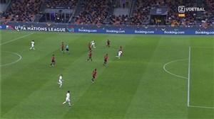 چرا گل دوم فرانسه آفساید نبود؟ (عکس)