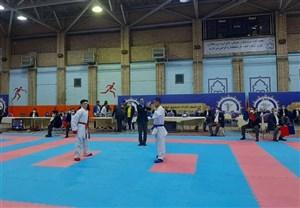 پسران کاراته کرمان قهرمان کشور شدند