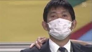 سامورایی در ژاپن به گریه افتاد! (عکس)