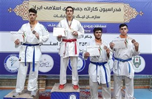 کاراتهکا قمی، مدال طلای قهرمانی کشور  را کسب کرد