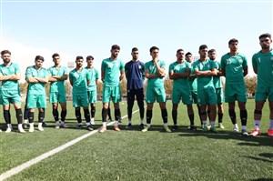 رونمایی از تیم مهدویکیا در اولین بازی رسمی